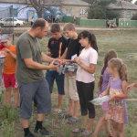 Kinder bekommen Geschenke (Moldawien)