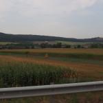 Typische Felder in Rumänien