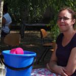 Die Wasserversorgung -sehr wichtig bei 41°C . Magdalen