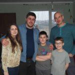 Die Familie hat ein großes Herz für Waisenkinder in der Ukraine...